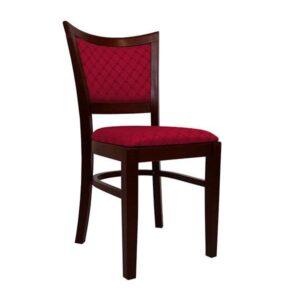 Drevená stolička SPA-3160 z masívu so špicatými rohmi