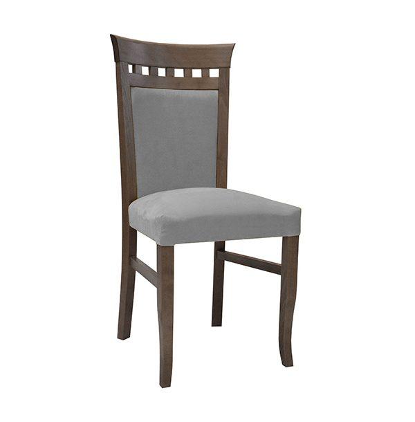 Drevená stolička SPA-3629 s vysokým operadlom