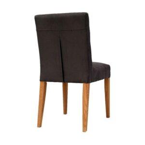 Čalúnená stolička SPA-3750 s drevenými nohami