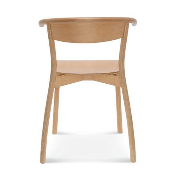 Drevená stolička s podrúčkami SRB-1906 Fala