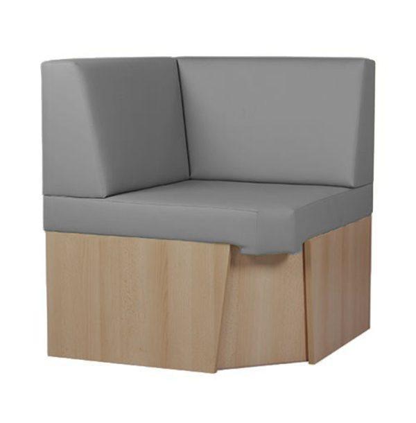 Reštauračný modulárny systém boxov a lavíc BKM-Torento na sokli