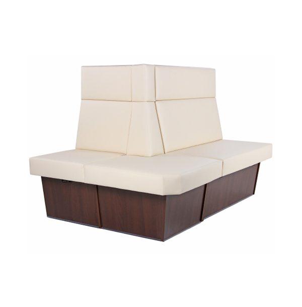 Reštauračný modulárny systém boxov a lavíc BKM-Torento 110 na sokli
