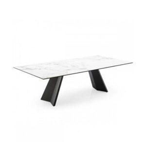 Jedálenský stôl CAL-Icaro 4115 s hranatou stolovou doskou