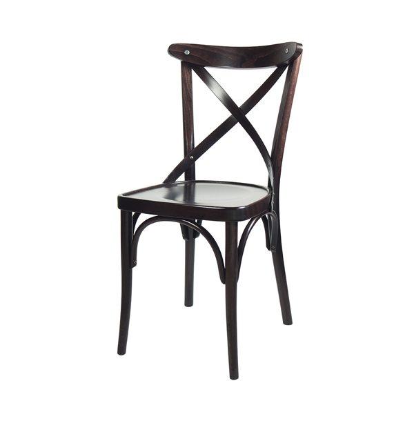 Drevená stolička ELA-1327S otočená spredu