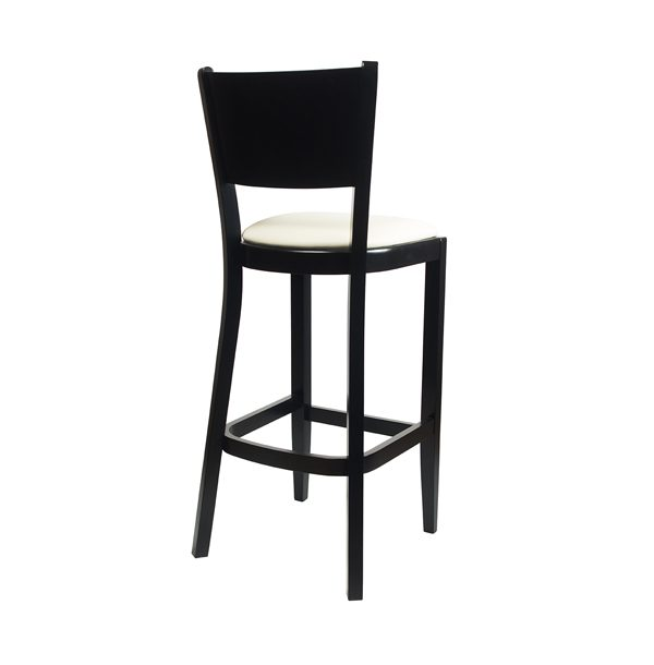 Drevená barová stolička ELBST-1301B
