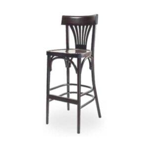 Drevená barová stolička ELBST-1320B