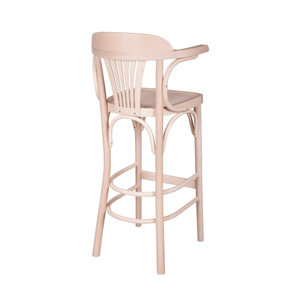 Drevená barová stolička ELBST-1337B