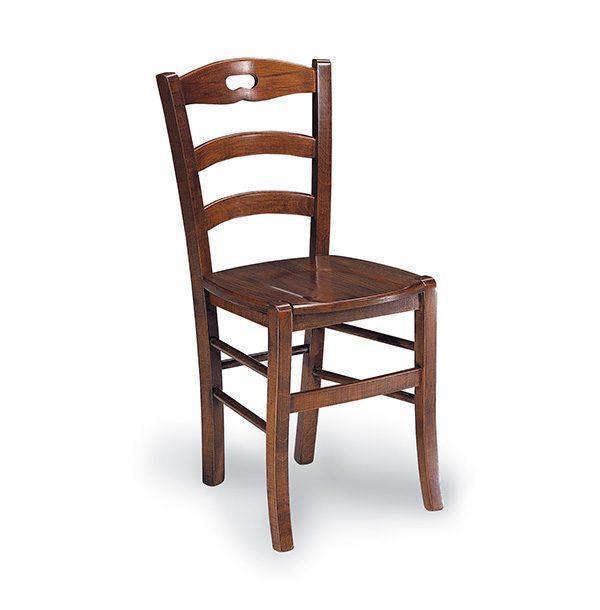 Klasická drevená jedálenská stolička CI-250
