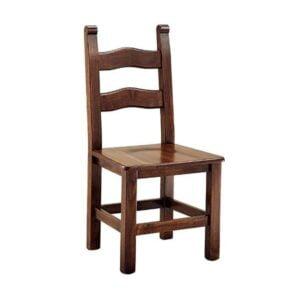 Klasická drevená jedálenská stolička CI-347