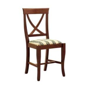 Klasická drevená jedálenská stolička CI-574