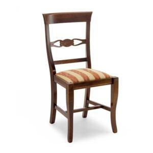 Klasická drevená jedálenská stolička CI-643