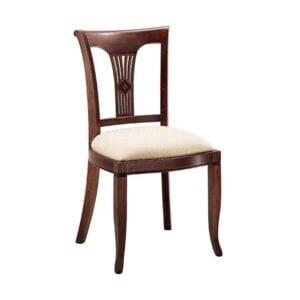 Klasická drevená jedálenská stolička CI-810