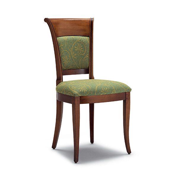 Klasická drevená jedálenská stolička CI-820