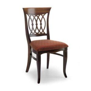Klasická drevená jedálenská stolička CI-852