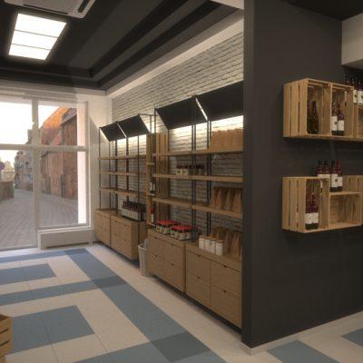 drevex-návrh interiéru bioobchodu-2