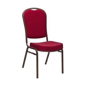 Banketová stolička ML-68312 s oceľovou konštrukciou