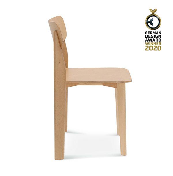 Drevená jedálenská stoličky SRA-1907 Pala