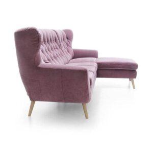 Rohová sedačka GL-Voss škandinávskeho dizajnu