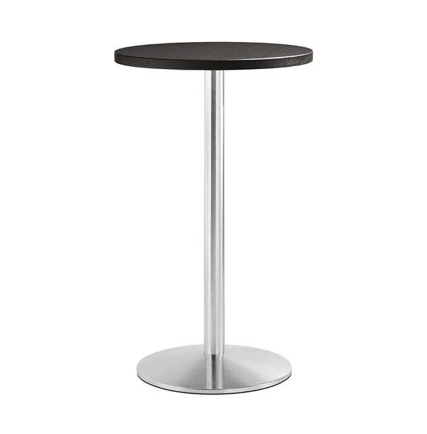 Liatinová stolová noha PE-Tonda v chrómovej verzii