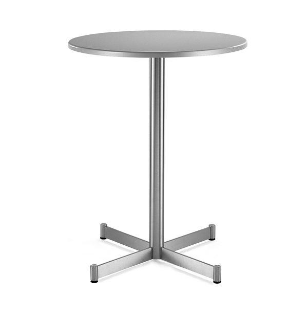 Barová stolová noha PE-Zenith z nehrdzavejúcej ocele
