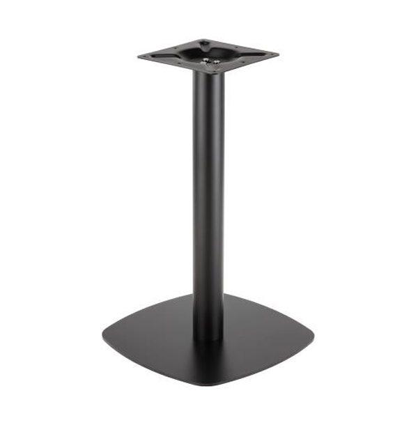 Čierna oceľová stolová noha PS-C49