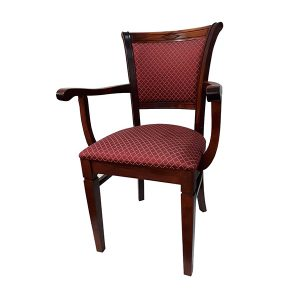 Jedálenská stolička s podrúčkami SRB-0133 AKCIA