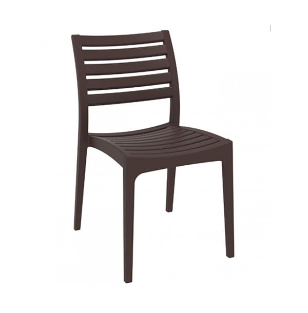 Exteriérová stolička SI-Ares otočená spredu